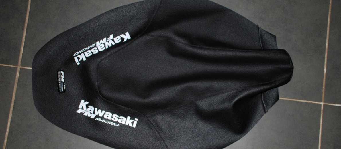 Housse de selle kx 125 250 94 98 pour votre moto kawasaki for Housse de selle moto kawasaki