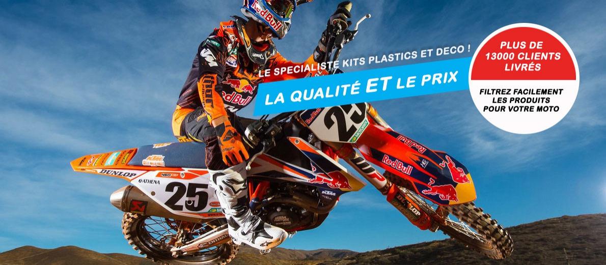 Slide spécialiste kits. Crédits : ©accessoires-moto-enduro-cross.fr 2017