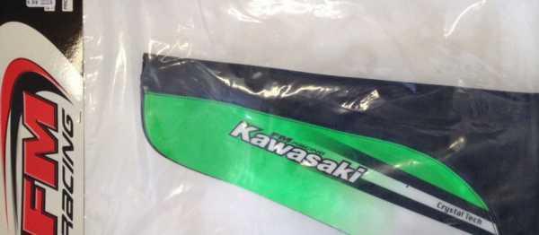 Housse de selle FM RACING KAWASAKI KX 125/250 99-02. Crédits : ©EMX