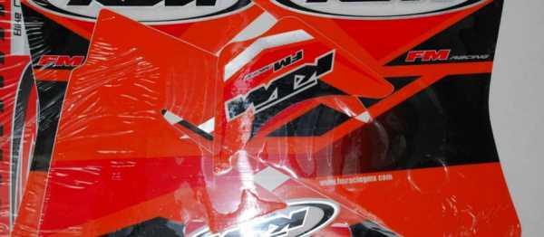 Kit déco FMRACING KTM EXCEXCF 01-02. Crédits : ©EMX