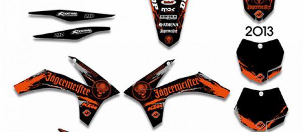 KIT DECO XP KTM SX/SXF 11-12 EXC/EXCF 12-13. Crédits : ©accessoires-moto-enduro-cross.fr 2018