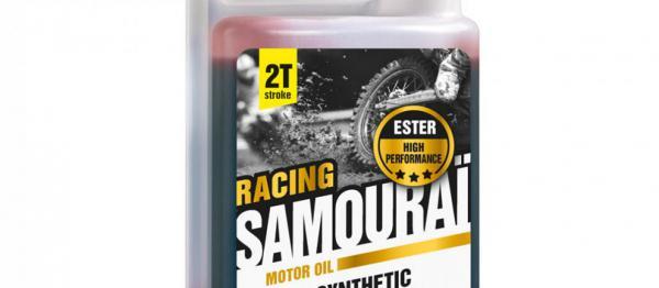 Huile moteur Ipone SAMOURAI RACING 100% synthése. Crédits : ©accessoires-moto-enduro-cross.fr 2018
