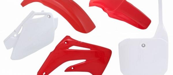 Kit plastiques CR 85 03-08. Crédits : ©accessoires-moto-enduro-cross.fr 2018