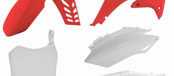 Kit plastiques HONDA CRF 250 11-13 CRF 450 11-12. Crédits : ©accessoires-moto-enduro-cross.fr 2018
