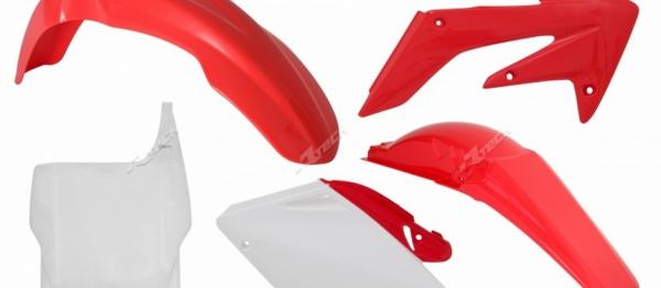 Kit plastiques CRF 250 04-05. Crédits : ©accessoires-moto-enduro-cross.fr 2018