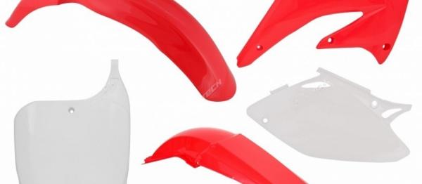 Kit plastiques HONDA CRF 450 02-03. Crédits : ©accessoires-moto-enduro-cross.fr 2018