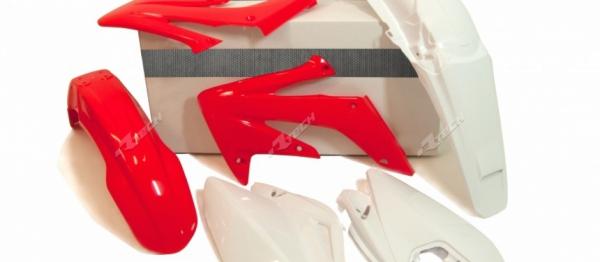 Kit plastiques HONDA CRFX 250/300 04-17. Crédits : ©accessoires-moto-enduro-cross.fr 2018