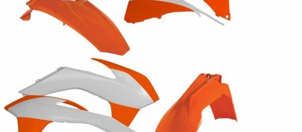 Kit plastiques KTM EXC/EXCF 14-16. Crédits : ©accessoires-moto-enduro-cross.fr 2018