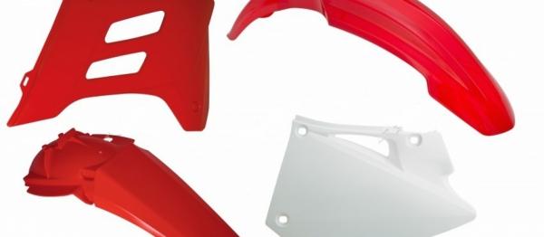Kit plastiques GASGAS EC 01-06. Crédits : ©accessoires-moto-enduro-cross.fr 2018
