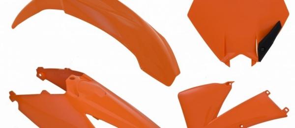 Kit plastiques KTM 85 SX 06-12. Crédits : ©accessoires-moto-enduro-cross.fr 2018