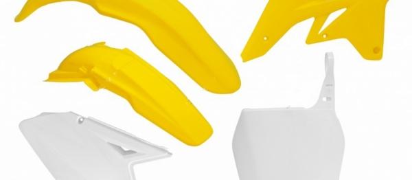 Kit plastiques SUZUKI RMZ 250 07-09. Crédits : ©accessoires-moto-enduro-cross.fr 2018