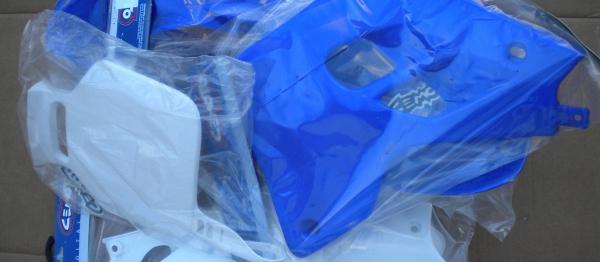 Kit plastiques YAMAHA YZ 80 93-01. Crédits : ©accessoires-moto-enduro-cross.fr 2018