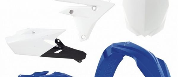 Kit plastiques YAMAHA YZF 250 14-18 YZF 450 14-17. Crédits : ©accessoires-moto-enduro-cross.fr 2018