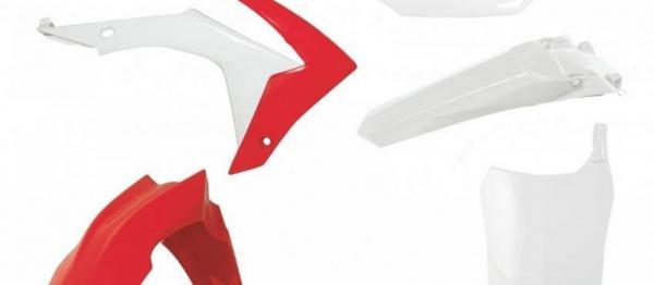 Kit plastiques HONDA CRF 250 14-17 CRF 450 13-16. Crédits : ©accessoires-moto-enduro-cross.fr 2020