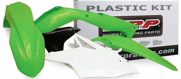 Kit plastiques KX 85 01-13. Crédits : ©accessoires-moto-enduro-cross.fr 2017