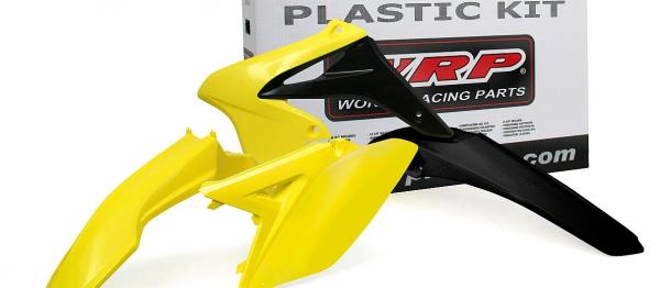 Kit plastiques SUZUKI RMZ 250 10-18. Crédits : ©accessoires-moto-enduro-cross.fr 2017