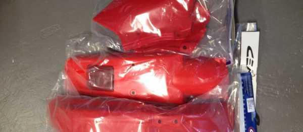 Kit plastiques HONDA XR 250/400 96-04. Crédits : ©accessoires-moto-enduro-cross.fr 2015