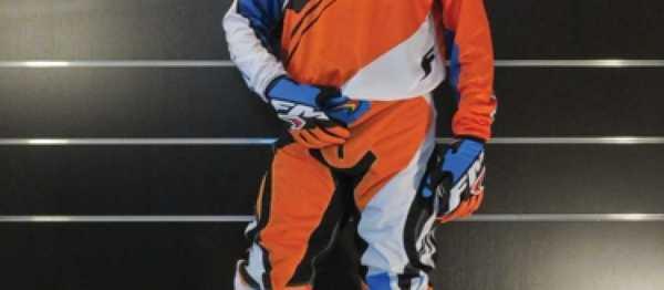 Pantalon cross FM RACING FORCE ORANGE 2016. Cr�dits : �accessoires-moto-enduro-cross.fr 2015