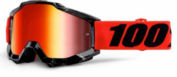 Lunettes Cross 100% The Accuri Inferno Miroir Red. Cr�dits : �accessoires-moto-enduro-cross.fr 2015