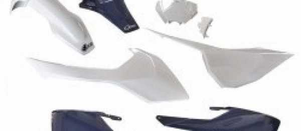 Kit plastiques HVA TC 125/250 FC 250/350/450 16-18. Crédits : ©accessoires-moto-enduro-cross.fr 2016