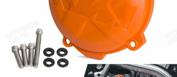 Protection carter embrayage KTM EXCF/SXF 12-16. Crédits : ©accessoires-moto-enduro-cross.fr 2016