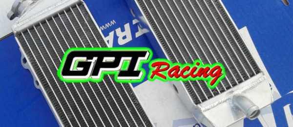 Radiateur GPI RACING HONDA CRF/CRFX 250/300 04-09. Crédits : ©accessoires-moto-enduro-cross.fr 2016
