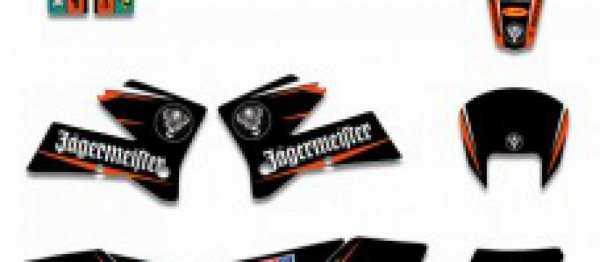 kit deco XP KTM EXC/EXCF 05-07 SX/SXF 05-06. Crédits : ©accessoires-moto-enduro-cross.fr 2016
