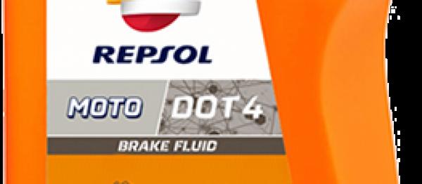 Liquide de frein REPSOL DOT 4-500 ml. Crédits : ©accessoires-moto-enduro-cross.fr 2017