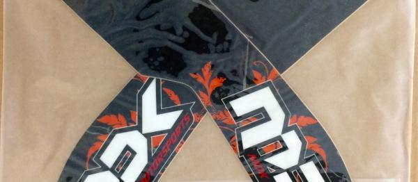 DECO GARDE BOUE AVANT KTM EXC/EXCF 08-13 SX/SXF 07-12. Crédits : ©accessoires-moto-enduro-cross.fr 2017