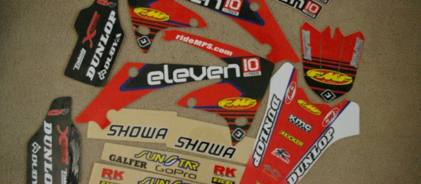 KIT DECO FLU DESIGN ELEVEN TEN MODS CRF 250 10-13 CRF 450 09-12. Crédits : ©accessoires-moto-enduro-cross.fr 2017