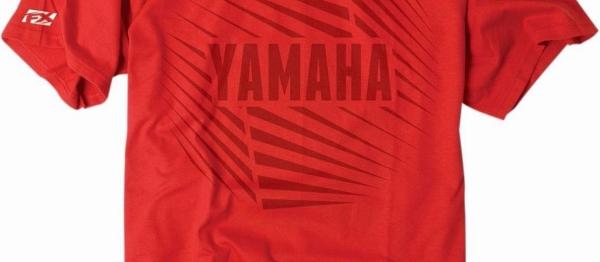 T-shirt FX YAMAHA. Crédits : ©accessoires-moto-enduro-cross.fr 2017