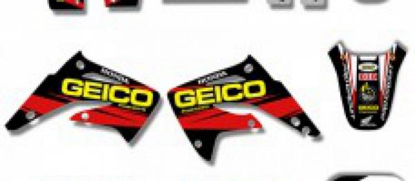 KIT DECO XPARTS HONDA CR 85 03-08. Crédits : ©accessoires-moto-enduro-cross.fr 2018