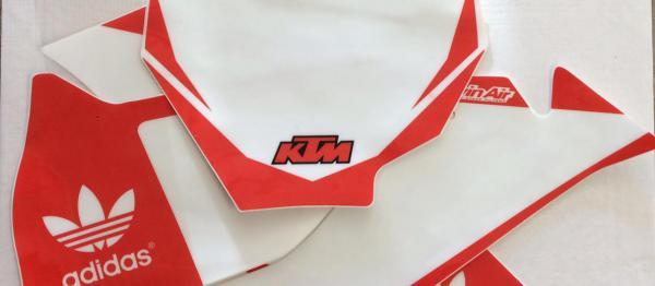 FONDS DE PLAQUES KTM SX /SXF 16-18. Crédits : ©accessoires-moto-enduro-cross.fr 2018
