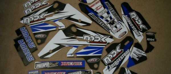 Kit d�co FLU DESIGN RMZ 250 07-09. Cr�dits : �accessoires-moto-enduro-cross.fr 2015
