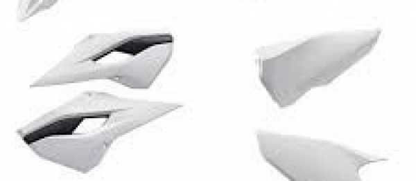 Kit plastiques HUSQVARNA TC 125/250 FC 250/350/450 2014. Crédits : ©accessoires-moto-enduro-cross.fr 2017
