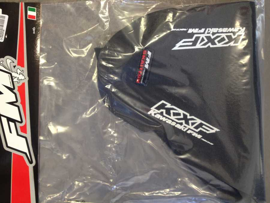 Housse de selle fm racing kxf 250 06 08 for Housse de selle moto kawasaki