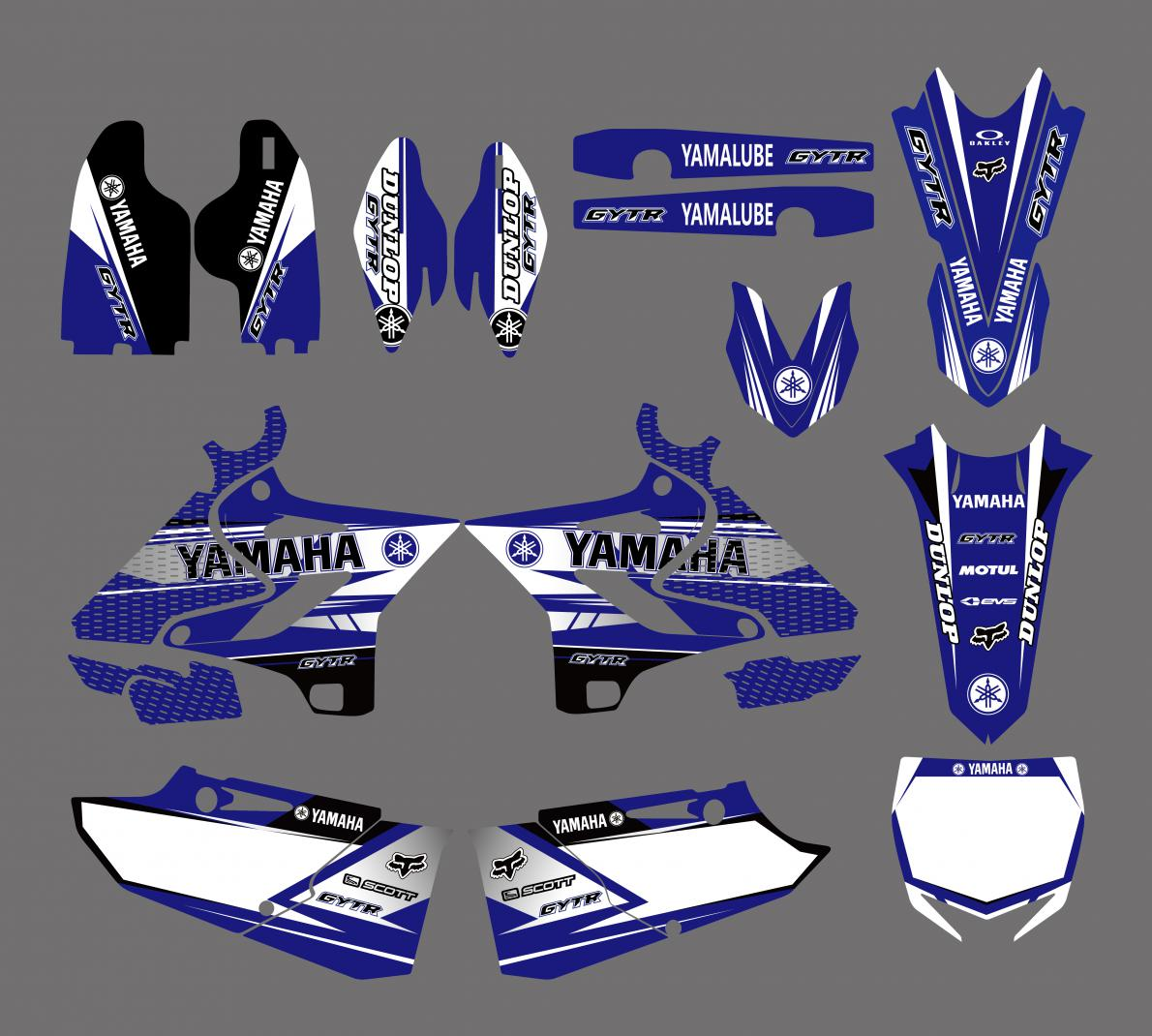 KIT DECO XP YAMAHA YZ 125/250 15-19. Crédits : ©accessoires-moto-enduro-cross.fr 2018