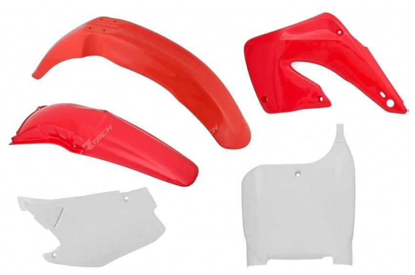Kit plastiques HONDA CR 125/250 00-01. Crédits : ©accessoires-moto-enduro-cross.fr 2018