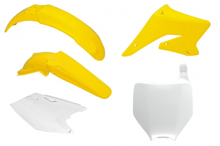 Kit plastiques SUZUKI RMZ 250 04-06. Crédits : ©accessoires-moto-enduro-cross.fr 2018