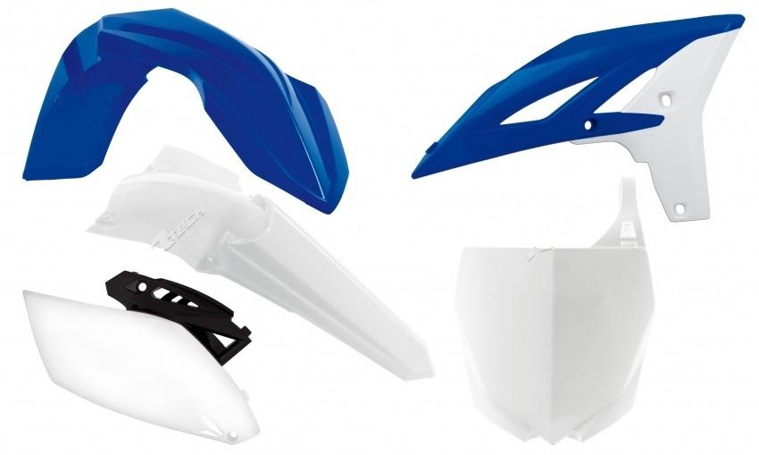 Kit plastiques YAMAHA YZF 250 10-13. Crédits : ©accessoires-moto-enduro-cross.fr 2018