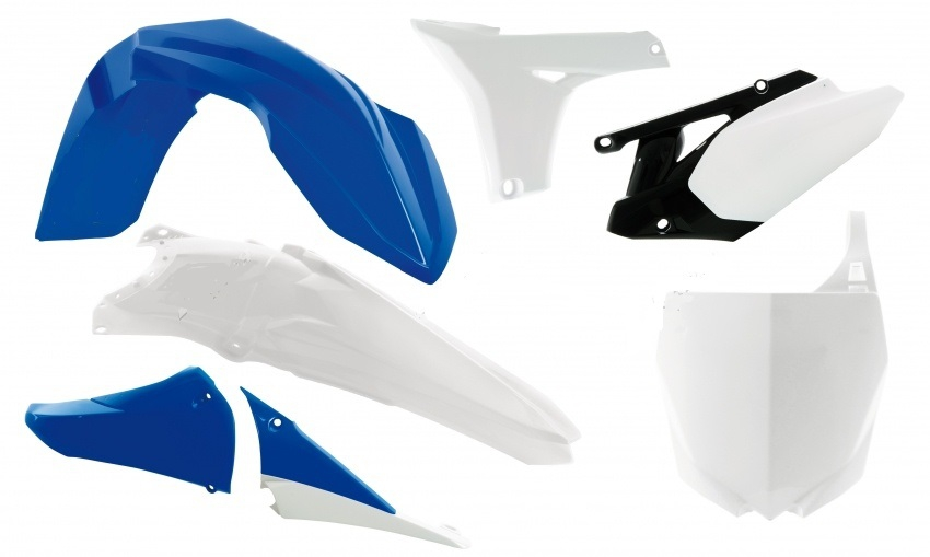 Kit plastique YAMAHA YZF 450 10-13. Crédits : ©accessoires-moto-enduro-cross.fr 2018