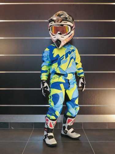Pantalon cross enfant FM RACING CAMO. Crédits : ©accessoires-moto-enduro-cross.fr 2015