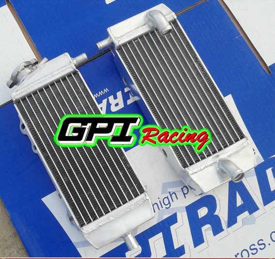 Radiateur GPI RACING RM 85 01-17. Crédits : ©accessoires-moto-enduro-cross.fr 2016