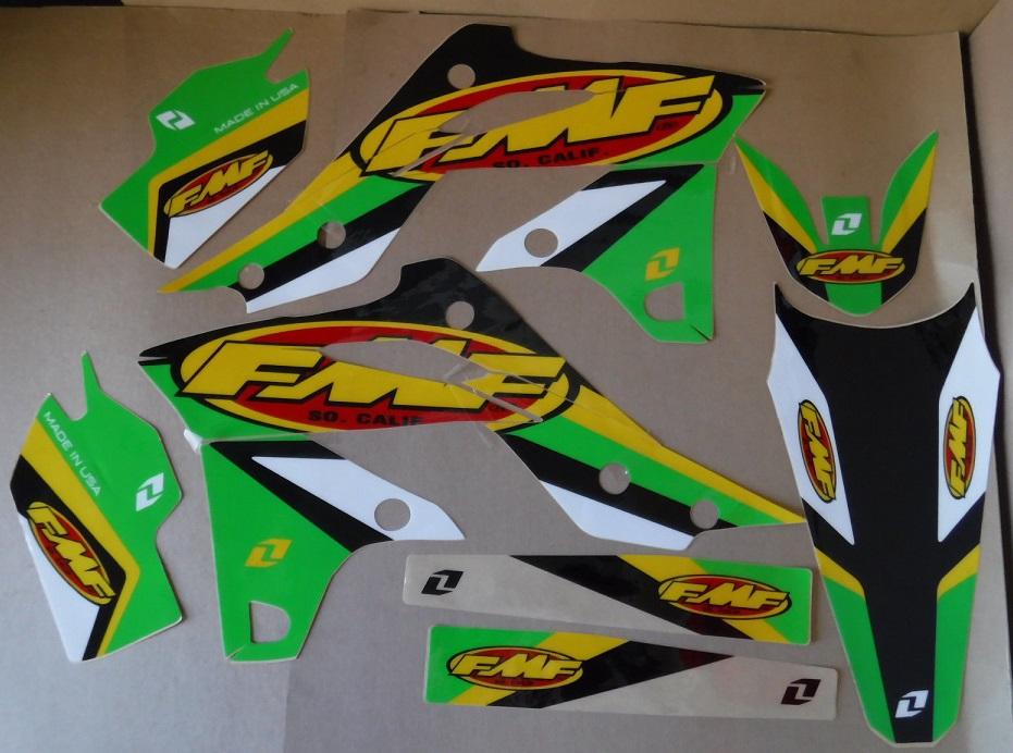 Kit Deco One Industries Fmf Kawasaki Kxf 250 13 16