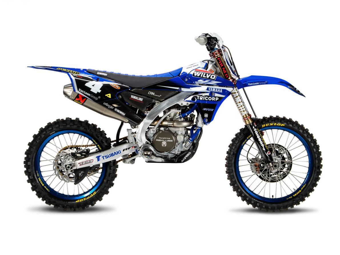 KIT DECO REPLICA WILVO TEAM MX2 YAMAHA YZF 250 14-18 450 14-17. Crédits : ©accessoires-moto-enduro-cross.fr 2018