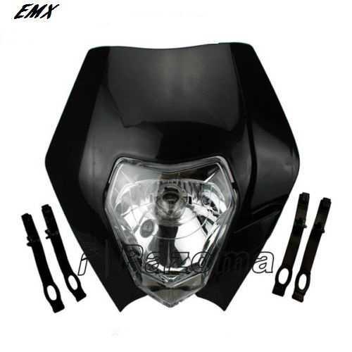 Plaque phare KTM EXC/EXCF 08-13. Crédits : ©accessoires-moto-enduro-cross.fr 2015