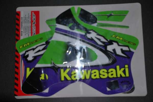 Kit déco FM RACING KX 125/250 94-98. Crédits : ©EMX