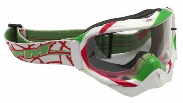 Lunettes FM RACING MUDDY FLAG IT. Crédits : ©EMX
