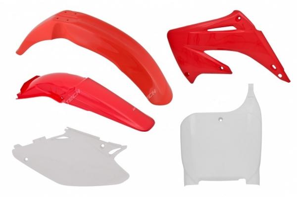 Kit plastiques HONDA CR 125/250 02-03. Crédits : ©accessoires-moto-enduro-cross.fr 2018