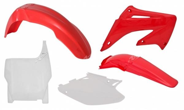 Kit plastiques CR125/250 04-08. Crédits : ©accessoires-moto-enduro-cross.fr 2018